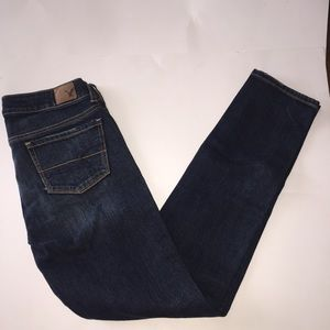 {AmericanEagle} Dark wash Skinny Stretch jeans
